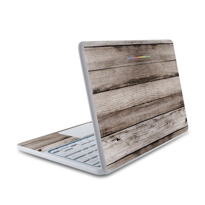 HP Chromebook 11 Skin - Barn Wood