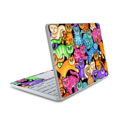 HP Chromebook 11 Skin - Colorful Kittens