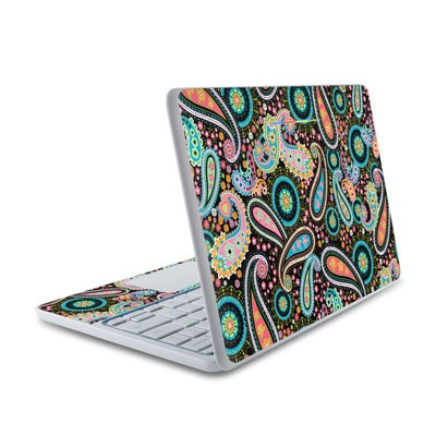 HP Chromebook 11 Skin - Crazy Daisy Paisley