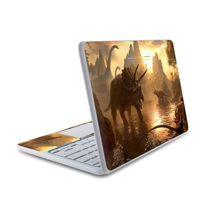 HP Chromebook 11 Skin - Cretaceous Sunset