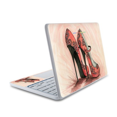 HP Chromebook 11 Skin - Coral Shoes