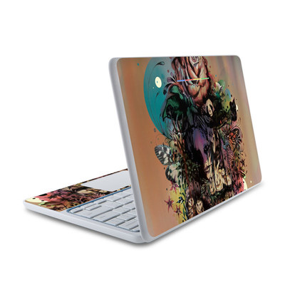 HP Chromebook 11 Skin - Doom and Bloom