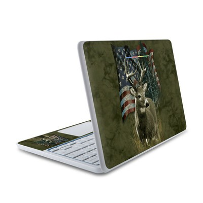 HP Chromebook 11 Skin - Deer Flag