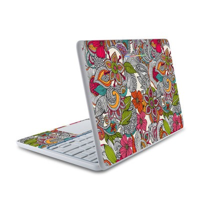 HP Chromebook 11 Skin - Doodles Color