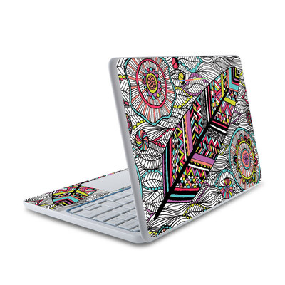 HP Chromebook 11 Skin - Dream Feather