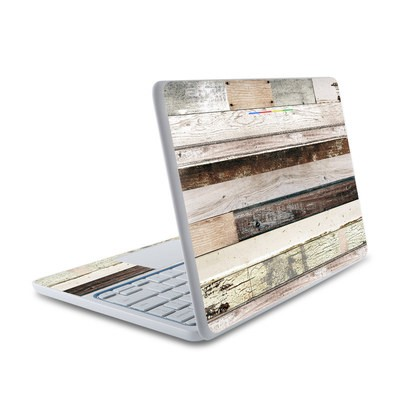 HP Chromebook 11 Skin - Eclectic Wood