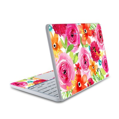 HP Chromebook 11 Skin - Floral Pop