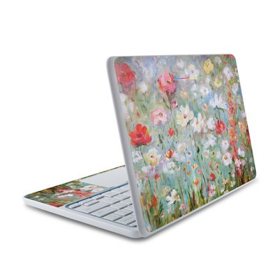HP Chromebook 11 Skin - Flower Blooms