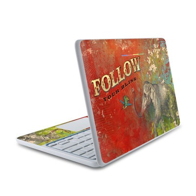 HP Chromebook 11 Skin - Follow Your Bliss
