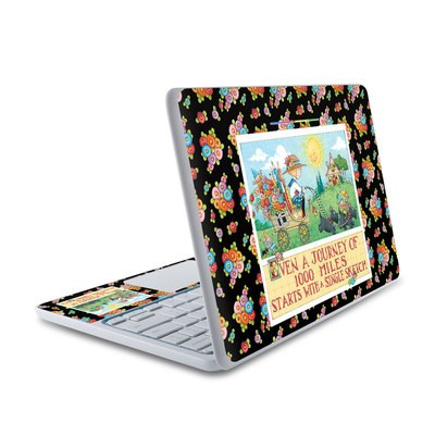 HP Chromebook 11 Skin - Forty Year Journey