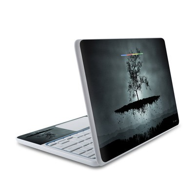 HP Chromebook 11 Skin - Flying Tree Black