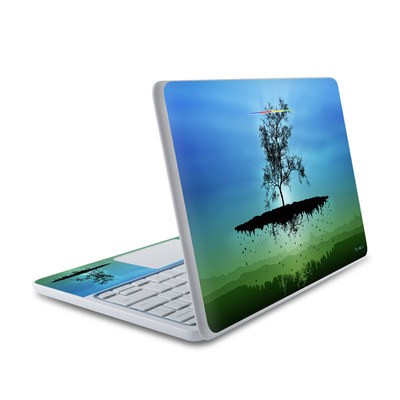 HP Chromebook 11 Skin - Flying Tree Blue