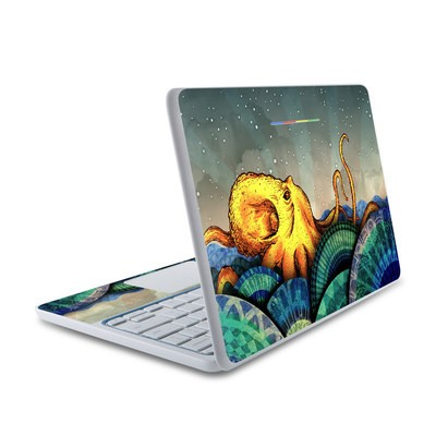 HP Chromebook 11 Skin - From the Deep