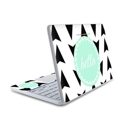 HP Chromebook 11 Skin - Greetings