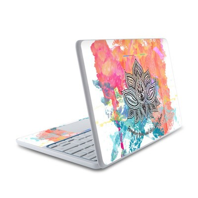 HP Chromebook 11 Skin - Happy Lotus