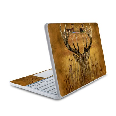 HP Chromebook 11 Skin - Hiding Buck