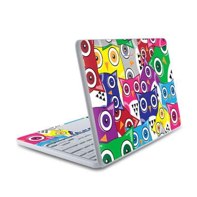 HP Chromebook 11 Skin - Hoot