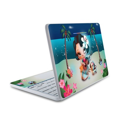HP Chromebook 11 Skin - Hula Night