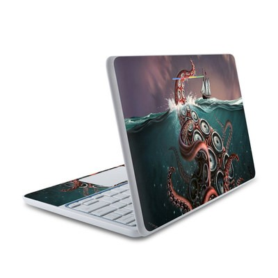 HP Chromebook 11 Skin - Kraken