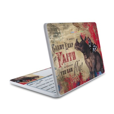 HP Chromebook 11 Skin - Leap Of Faith