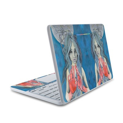 HP Chromebook 11 Skin - Luna Ultra
