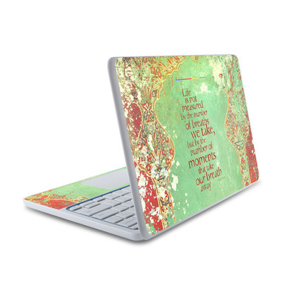 HP Chromebook 11 Skin - Measured