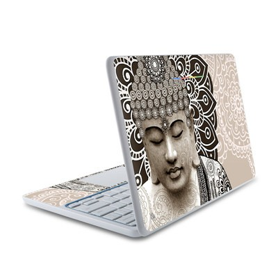 HP Chromebook 11 Skin - Meditation Mehndi