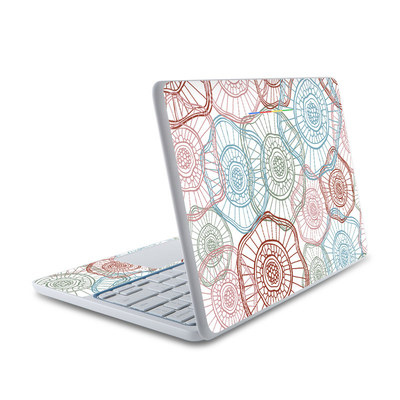 HP Chromebook 11 Skin - Micro Flowers