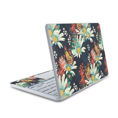 HP Chromebook 11 Skin - Monarch Grove