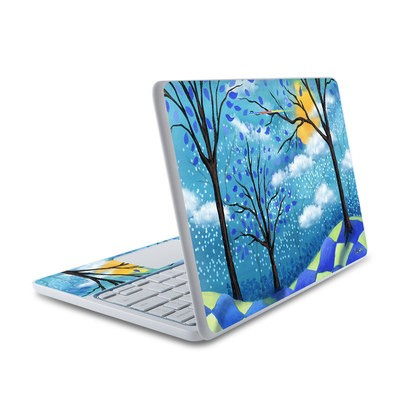 HP Chromebook 11 Skin - Moon Dance Magic