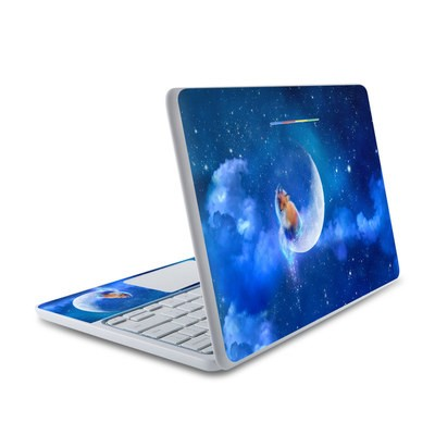 HP Chromebook 11 Skin - Moon Fox