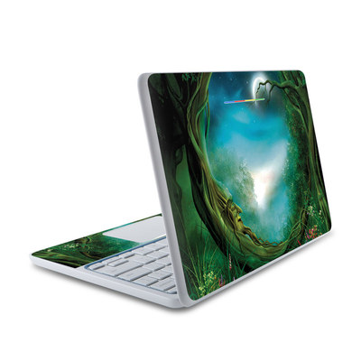 HP Chromebook 11 Skin - Moon Tree