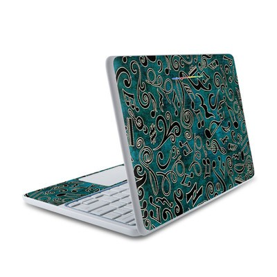 HP Chromebook 11 Skin - Music Notes