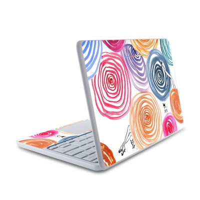 HP Chromebook 11 Skin - New Circle
