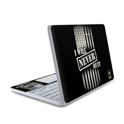 HP Chromebook 11 Skin - Never Quit