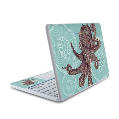 HP Chromebook 11 Skin - Octopus Bloom