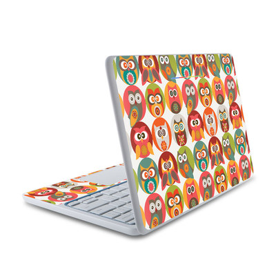 HP Chromebook 11 Skin - Owls Family