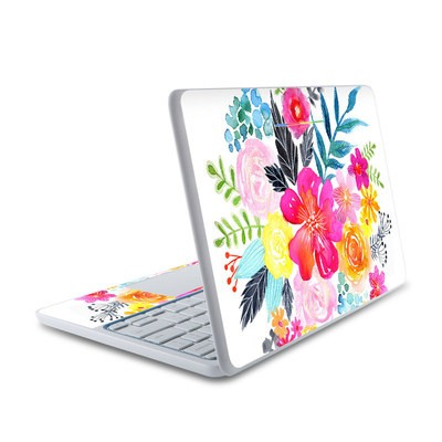 HP Chromebook 11 Skin - Pink Bouquet