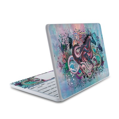 HP Chromebook 11 Skin - Poetry in Motion