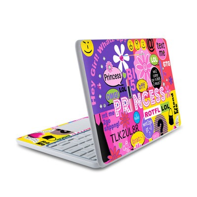 HP Chromebook 11 Skin - Princess Text Me