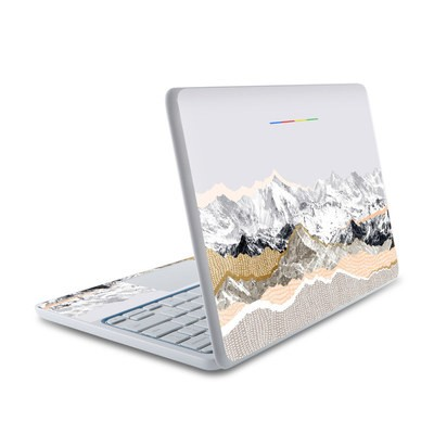 HP Chromebook 11 Skin - Pastel Mountains