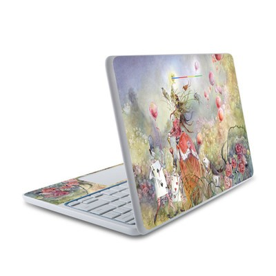 HP Chromebook 11 Skin - Queen of Hearts