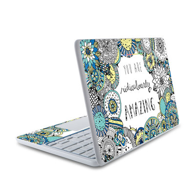 HP Chromebook 11 Skin - You Are Ridic