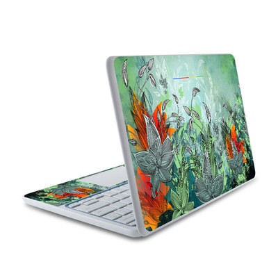 HP Chromebook 11 Skin - Sea Flora