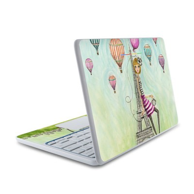 HP Chromebook 11 Skin - The Sights Paris