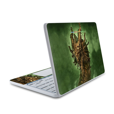 HP Chromebook 11 Skin - Steampunk Dragon