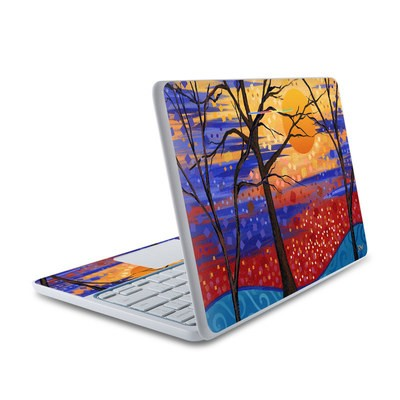 HP Chromebook 11 Skin - Sunset Moon