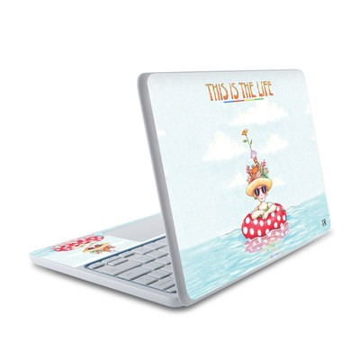 HP Chromebook 11 Skin - This Is The Life