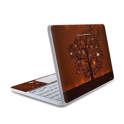 HP Chromebook 11 Skin - Tree Of Books