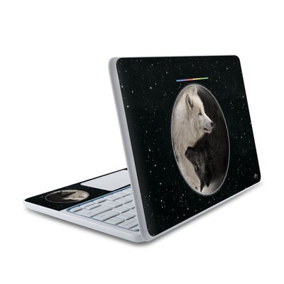 HP Chromebook 11 Skin - Wolf Zen